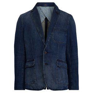 Polo Ralph Lauren Denim Blazer Sport Coat Jacket